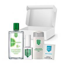 Green Box Заздравител за нокти Green+Лакочистител Green+Med Clean+Подарък sache Caviar Hand Cream