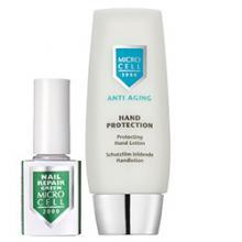 Комплект Заздравител за нокти Nail Repair Green+Micro Cell 3000 Защитен крем за ръце